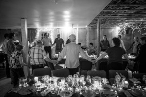 A typical dinner worship service at Simple Church. (Photos/submitted)