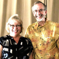 Festival co-chairs Donna Blanchard and Ken Crater. Photo/submitted