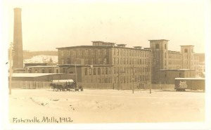 The Fisherville Mill in 1912.