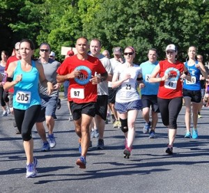 Runners in the Highland City Striders