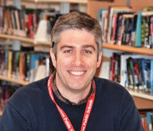 Principal Jason Webster Photo/Ed Karvoski Jr.