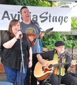 The Water's Edge performs at the Avidia Stage.