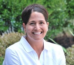 Jessica Winders, new athletic director at Hudson High School. (Photo/Ed Karvoski Jr.)