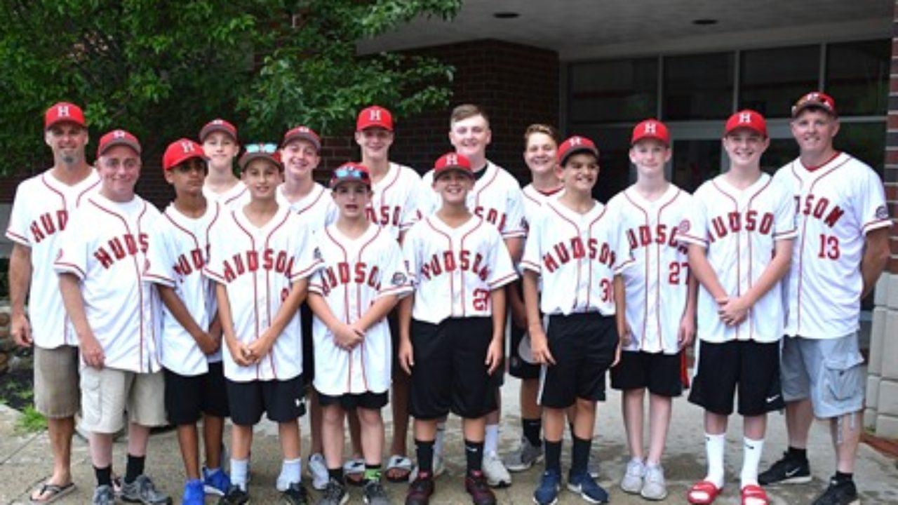 Hudson supports its Cal Ripken youth baseball World Series team