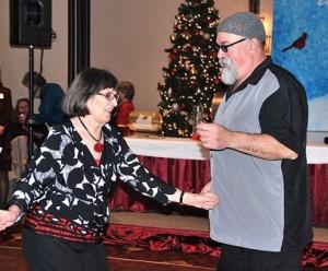 Ann Addeo and Joseph Scioli share the dance floor.