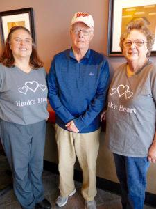 (l to r) Margaret Riani, Joe Curley and Lee Riani Photo/Nance Ebert
