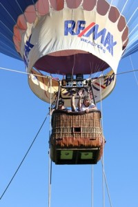 The RE/MAX balloon will return to this year's Family Fall Festival. (Photo/submitted)