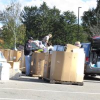 Items are collected at last year's recycling event Photo/submitted