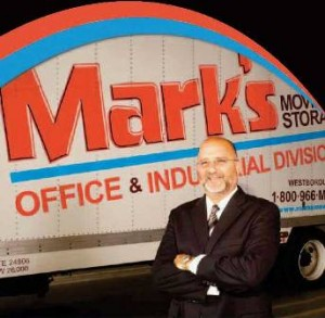 Mark Silverman, president and chief executive officer of Mark's Moving & Storage.  Photo/submitted