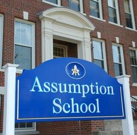 Millbury Assumption school