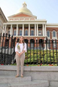 Alison Berardi at the State House Photo/submitted