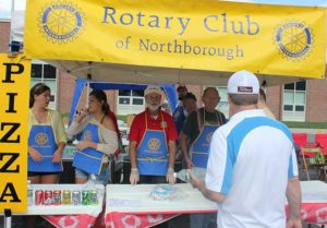 Each year, the Rotary Club of Northborough oversees and participates in the popular Street Fair./ File photo