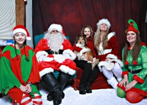 Pictures with Santa will benefit the Douglas Police Department K-9 team. Photo/courtesy Jeff Baker Sr., Visions by Baker Photography, LLC