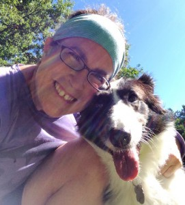 Sandy Gittlen and her dog, Lily Photo/submitted