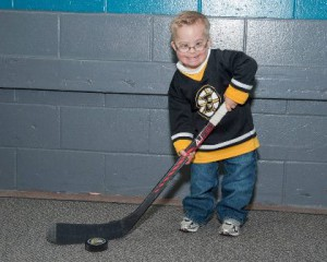 Boston Bruins fan Liam Fitzgerald Photo/submitted