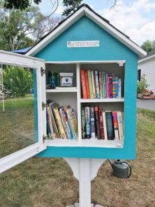The Gavalis's Little Free Library Photos/submitted