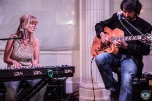 Musicians Lori Diamond and Fred Abatelli. (Photo/Nikilette Walker)