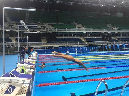 Northborough s dorian mcmenemy returns from rio olympics community advocate for Marlborough college swimming pool