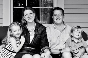Caren Mulcunry, her husband, Ryan, and their children Lucy Clara and James Ryan (Photo/courtesy Caren Mulcunry)