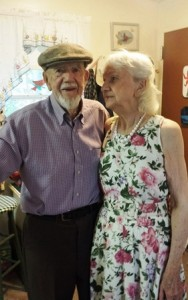 Walter and Phyllis Munyon celebrate their 75th wedding anniversary.