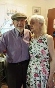 Walter and Phyllis Munyon celebrate their 75th wedding anniversary.