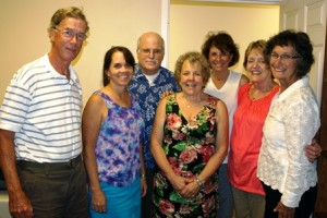 Members of the NICA banquet committee: (l to r) Bill O