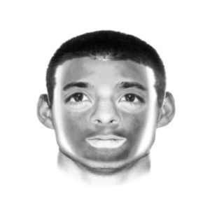 Police sketch of alleged assailant Photo/courtesy Northborough Police Department