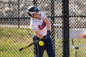 Westborough's Flaherty Foster swings at a pitch in a game against Algonquin