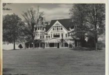 Northboro Manor Main Entrance 1940s
