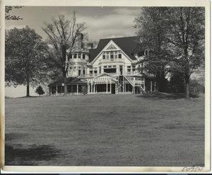 Northboro Manor Main Entrance 1940s