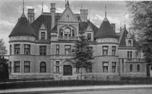 The Daniel B. Wesson Mansion in Springfield, Mass. burned down in 1966. (Photo/submitted)