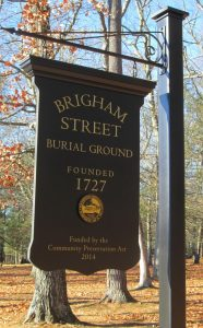 Brigham Street Burial Ground