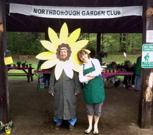 Northborough Garden Club members welcome shoppers to their plant sale. Photos/submitted