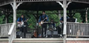 Beatles for Sale perform as a part of the Northborough Community Affairs Committee's summer concert series.
