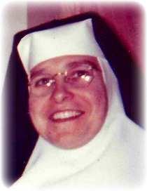 Obit Sister Mary Agnes Ertel