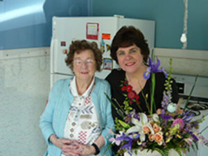 Doris J. (Parker) Blais Bonnell and her mother, Carol Idella (McGee) Parker