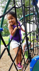 Ailani, 5, plays on one of the many summer camp field trips organized by the Boys & Girls Clubs of MetroWest. (Photo/submitted)