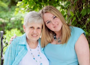 Susan Posterro ( r) and her mother Lynne McAtee (l), founders of Binkeez for Comfort.