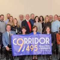 The Corridor 9/495 Board of Directors unveils its new regional brand.  Photo/Andy Weigl, Weigl Photography