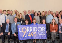 The Corridor 9/495 Board of Directors unveils its new regional brand.Photo/Andy Weigl, Weigl Photography