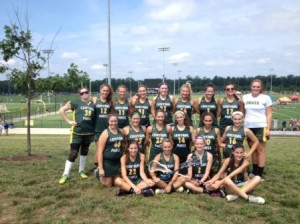 The Central Mass Club Lacrosse team went undefeated at the recent Capital Cup tournament. (Photo/submitted)