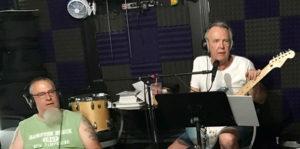 Mark Hamilton (l) and Dan McGrath in Hamilton's studio, Junction 109. Photos/submitted