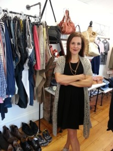 Juleen Weber, owner of Delly's Consignment Boutique Photo/submitted