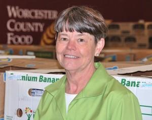 Jean McMurray, executive director of the Worcester County Food Bank Photo/Ed Karvoski Jr.