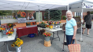 Shaun Jacobs of Jacobs All Season Flowers and Nancy Lang Shrewsbury Farmer's Market Photos Submitted