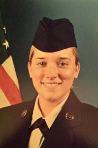 Nicole Archibald, 2103 Marlborough High School graduate, completed basic training. Photo/submitted