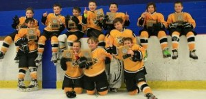 (bottom, l to r): Jack McCarthy, Ben Hamann, and Anthony Giansanti.   (top, l to r): Ryan Carew, Tom Haugen (standing), Timmy Howard, Sam Schiffman, Billy Mahoney, Luke Bellaud, Cole Aubrey-Keeler, Ben Cotter (standing), and Anthony Stillwell. Missing is Will Piett. Photo/submitted