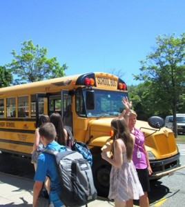 June 23 was the last day of school for students at the Robert E. Melican Middle School in Northborough.  Photo/ Zenya Molnar