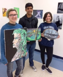 Algonquin Regional High School students will be participating in Art in Bloom. Photo/submitted