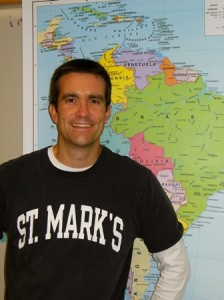Charlie Sellers, St. Mark's Spanish teacher and head of modern languages, will be participating in the Outreach 360 grassroots organization again this year. (Photo/Nance Ebert)